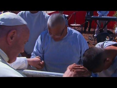 El Papa visitó la cárcel de Ciudad Juárez y criticó la falta de reinserción social de los presos