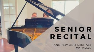 Senior Recital: Andrew and Michael Coleman