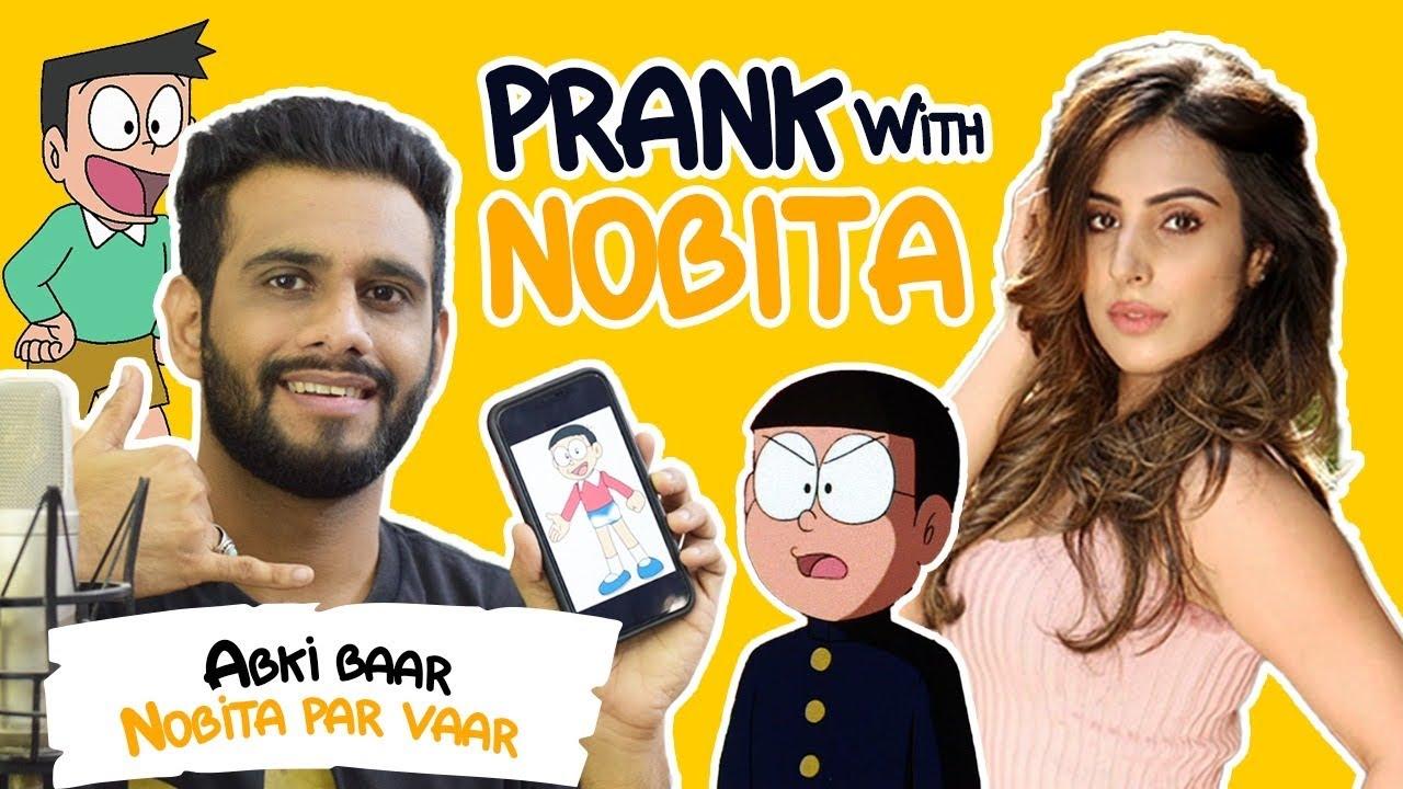 Prank Call | Suneo | Nobita | Wajahat Hasan | Simran Kaur