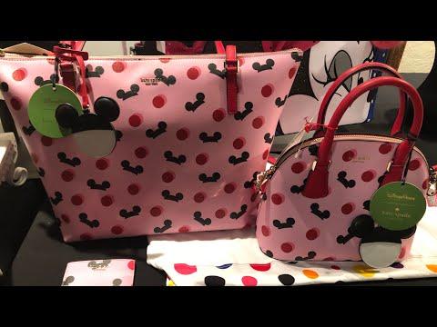 New Kate Spade Disney Parks Bags, Coming Soon! #shopdisneysprings