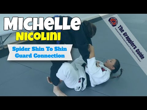 Michelle Nicolini - Stay Connected With Spider Shin To Shin Against A Moving Opponent