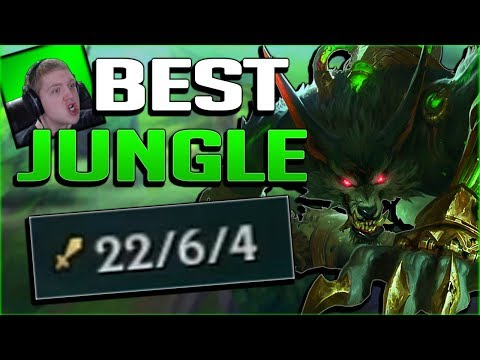 1V9 ANYONE WITH THE BEST JUNGLER OF SEASON 8!! WARWICK JUNGLE GAMEPLAY - League of Legends