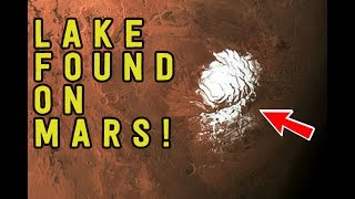 LAKE of Water Found on MARS! Possible Alien Life Underground