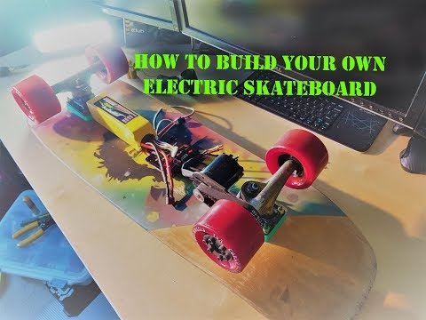 How To Build Your Own Electric Skateboard Part 2