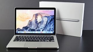 Apple MacBook Pro 13-inch with Retina Display (2015): Unboxing & Overview thumbnail