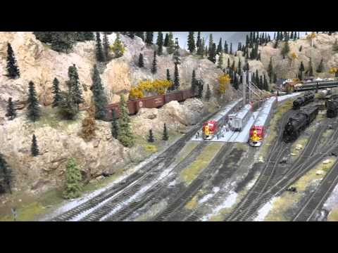 The Best of the Santa Fe on Jim McClellan's HO Scale Model Railroad
