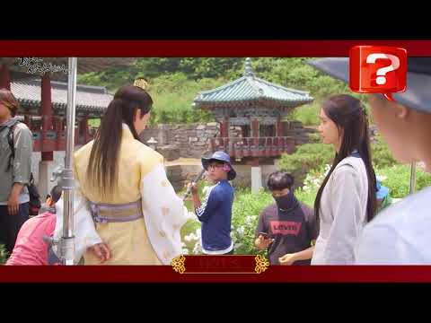[170911] YoonA The King of Love  shooting scene