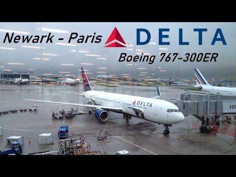 ✈️ FLIGHT REPORT ✈️ Delta Air Lines - Newark to Paris CDG - Boeing 767-300ER