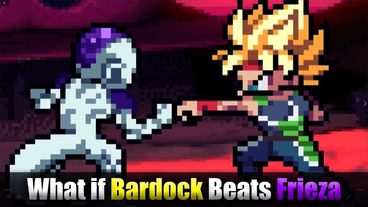 Bardock Beats Frieza Sprite Animation Youtube
