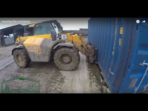 Moving a shipping Container