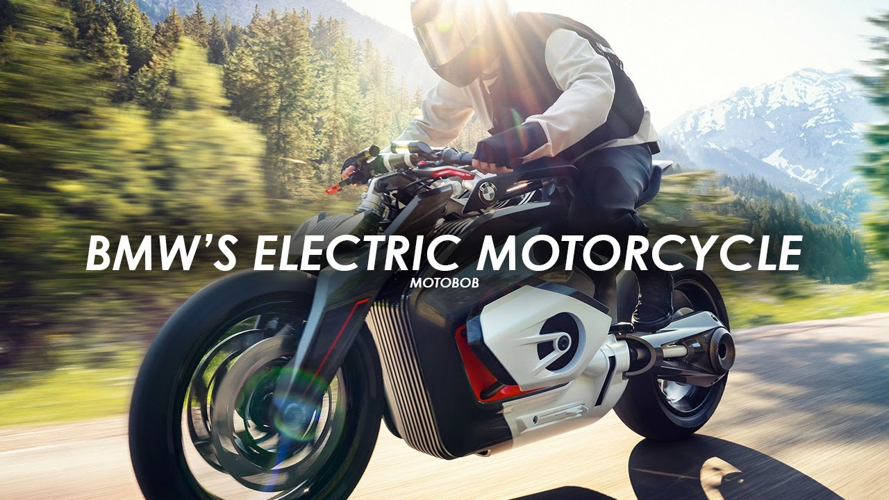Bmw Electric Motorcycle Concept Unveiled Vision Dc Roadster 2019 Youtube