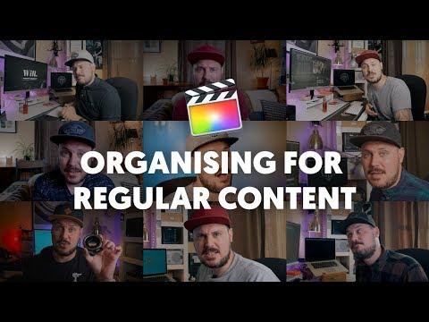 Organise FCPX for producing regular content - sharing assets across multiple projects