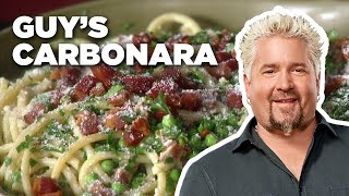 Guy Fieri Makes Carbonara Classica  Food Network