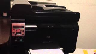 Hp laserjet 100 color mfp m175nw Review