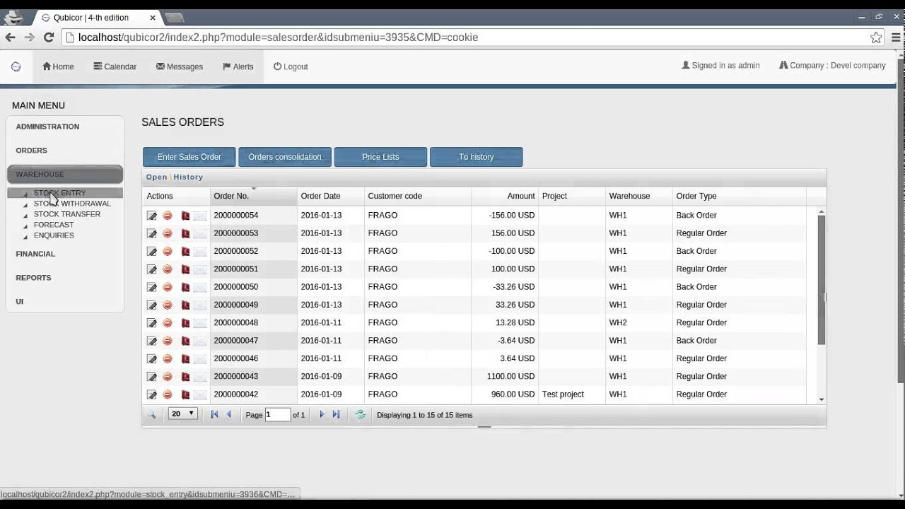 Free Online Invoice Inventory Order Management Workflow Based - Order invoices online