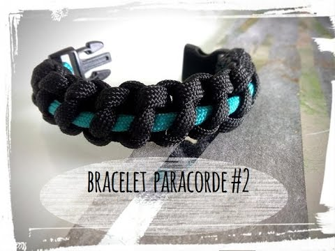Connu paracorde - tuto bracelet - YouTube RC91