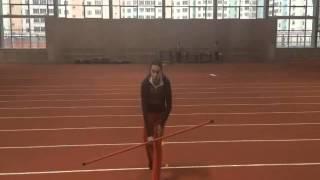 Марина Новик. Мастер-класс. Обучение метанию копья