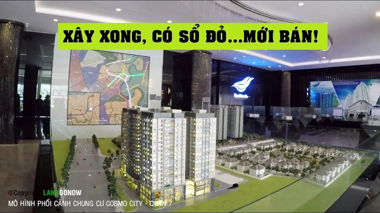 Phối cảnh căn hộ Cosmo City, Nguyễn Thị Thập, Quận 7 – Land Go Now ✔