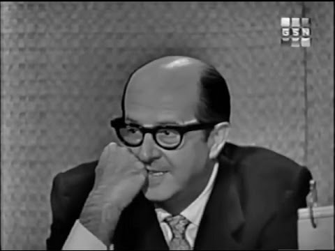 What's My Line? - Phil Silvers; Martin Gabel [panel] (Oct 25, 1959)