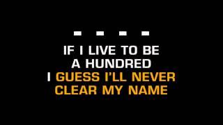 Merle Haggard Branded Man Karaoke