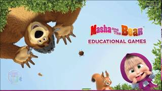 [GAME FOR KIDS]  Masha and the Bear. Educational Games - Funny