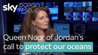 Gambar cover Queen Noor of Jordan's call to protect our oceans