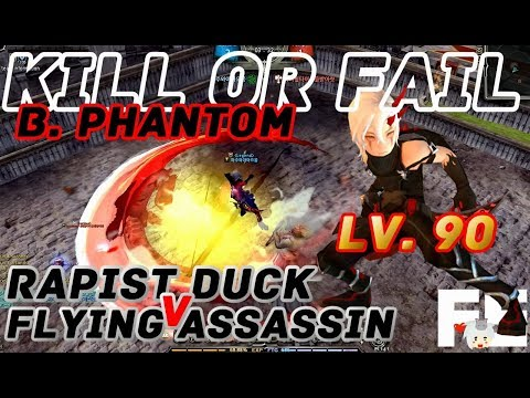 Dragon Nest PvP: Bleed Phantom v Gear Master v Destroyer Lv. 90 95 KOF KDN Spec