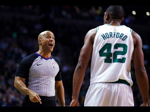 Boston Celtics star Al Horford not happy with foul calls