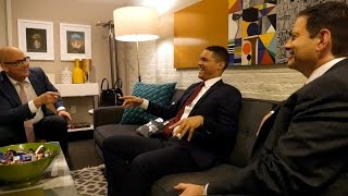 Backstage with The Daily Show's Trevor Noah