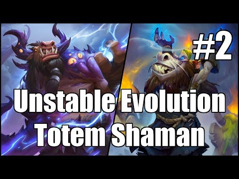 [Hearthstone] Unstable Evolution Totem Shaman (Part 2)