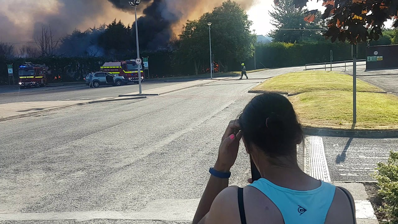 Download Fire in Tullamore near Cardinal Health Factory