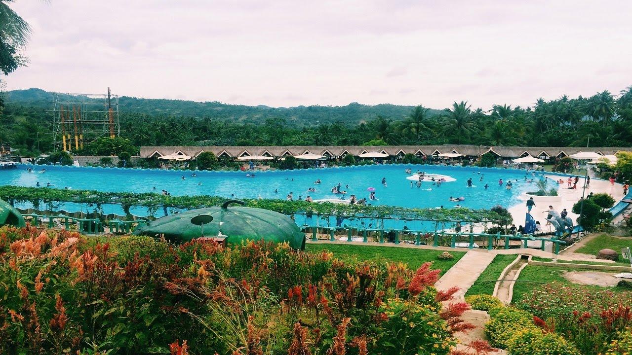 Hidden Valley Mountain Resort Wave Pool Pinamungajan Lamac Cebu Youtube