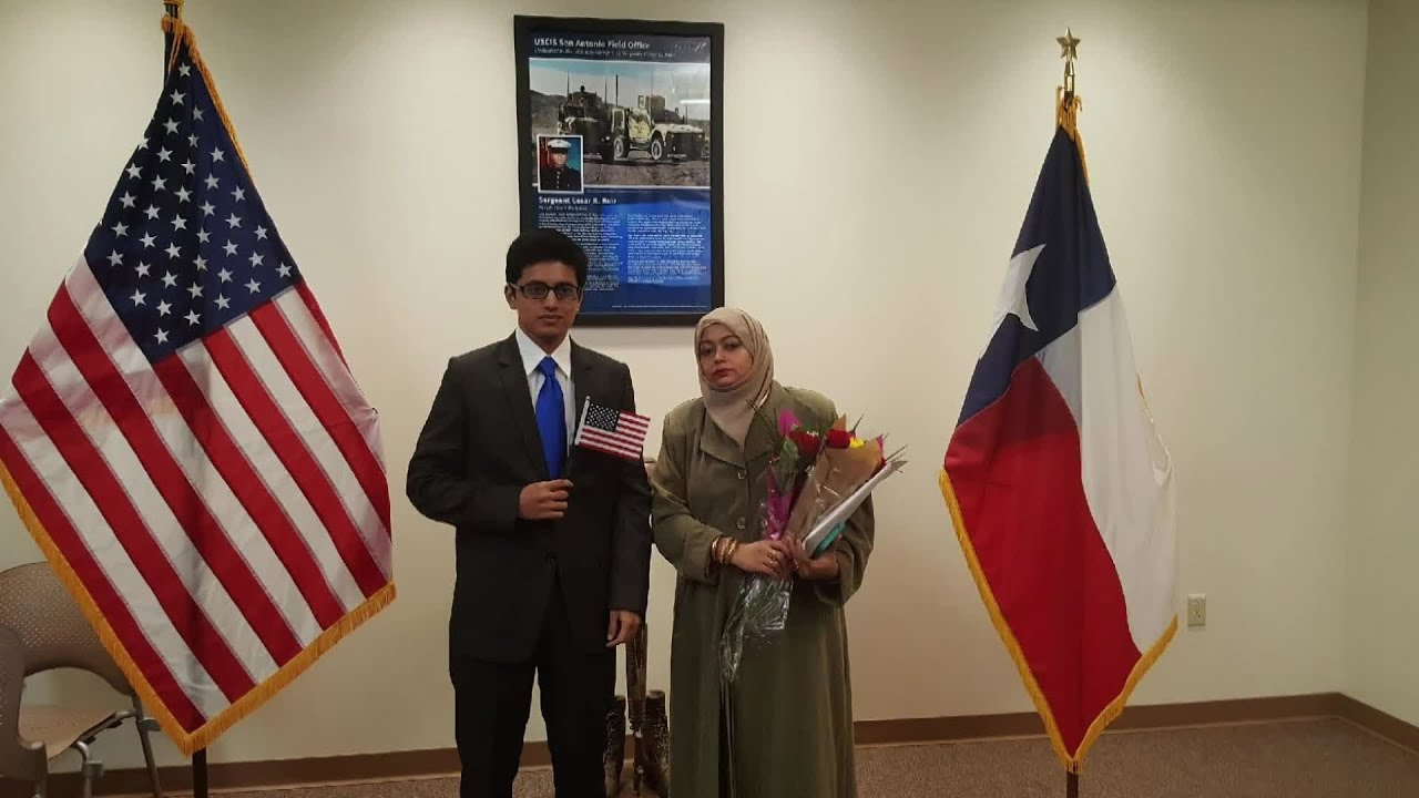Naturalization ceremony highlights long journey to citizenship
