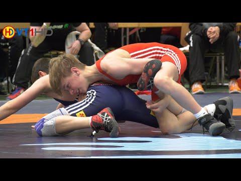 🤼   Wrestling   German Championships 2019 Cadets (Freestyle) - 42kg Round 1   ZIEGLER Vs. BAGCI