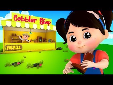 Cobbler Cobbler   Video For Children   Kindergarten Nursery Rhymes For Toddlers By Farmees