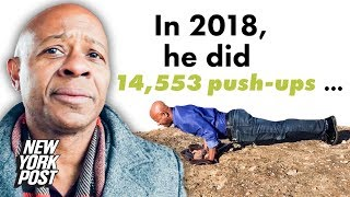 Man Does 14,553 Push-Ups, One for Every Person Lost to Gun Violence in America | New York Post