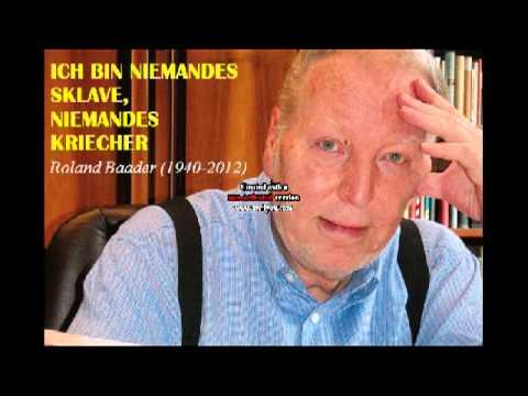 Roland Baader - Komplettes Interview
