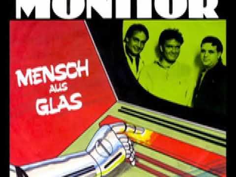 Monitor - Mensch aus Glas