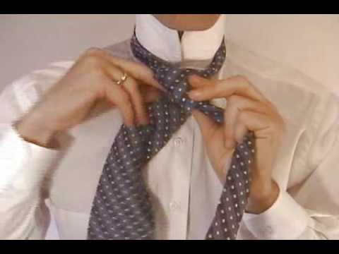Double Windsor Knot How To Tie The Double Windsor Necktie Knot