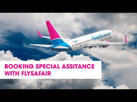Booking Special Needs Services with FlySafair
