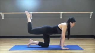 POP Pilates: Butt Blaster Workout (25 min)