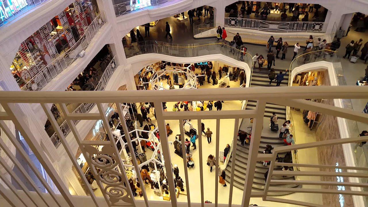 Centro comercial primark gran via de madrid youtube for Centro comercial sol madrid
