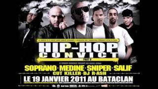 YOUSSOUPHA - Extrait LIVE - DANGEREUX - Hip Hop Convict 4