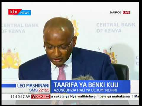 "Central Bank Governor's full speech, ""make no mistake, CBK is under attack."""