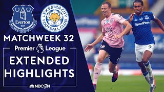 Everton V. Leicester City | Premier League Highlights | 7/1/2020 | Nbc Sports