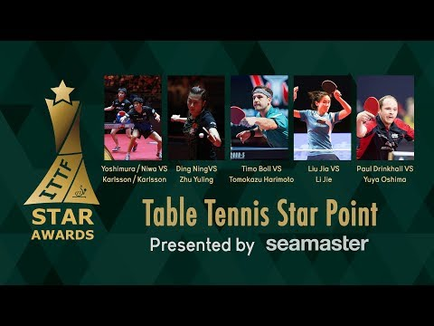 2017 ITTF Star Awards | Which is the Table Tennis Star Point of the Year?