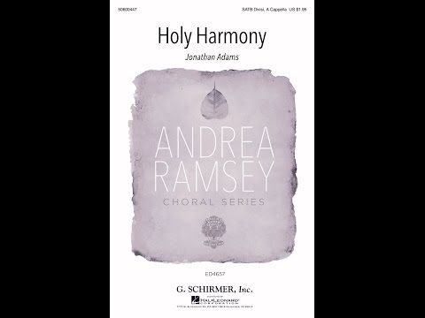Holy Harmony  by Jonathan Adams