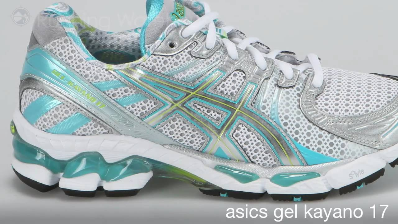 asics gel kayano 17 comparison