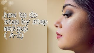 how to do makeup||step by step||for beginners||bengali||durga puja