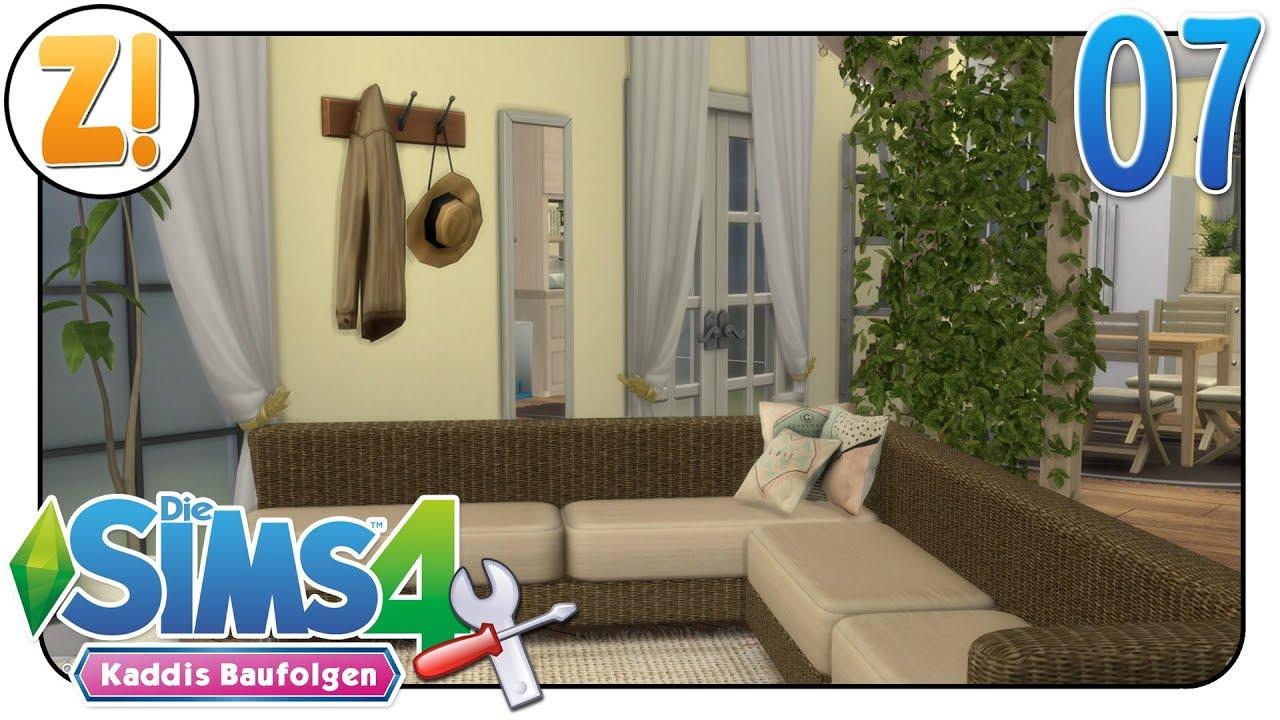 Sims 4 - Kaddi\'s Baufolgen: Das Wohnzimmer muss wohnlich werden #07 | Let\'s  Play [DEUTSCH]
